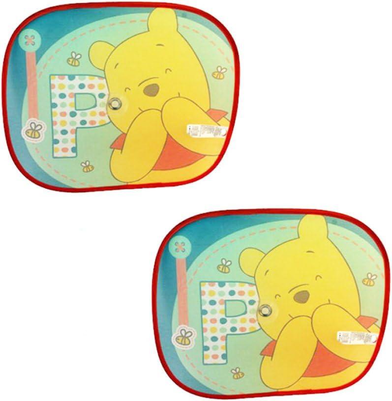 Disney Winnie The Pooh Folding Car Sunshades//Sunblinds 2 Pack Sun Shades