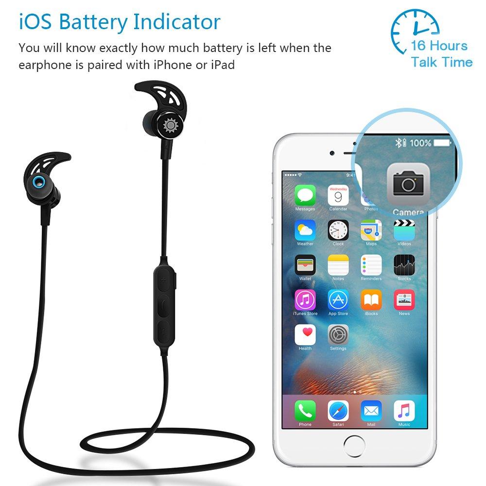 Auriculares inalámbricos con Bluetooth Tsumbay, para hacer ejercicio, magnéticos, intrauditivos, estéreo, micrófono integrado: Amazon.es: Electrónica
