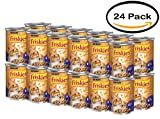 PACK OF 24 - Purina Friskies Meaty Bits Chicken Dinner in Gravy Cat Food 13 oz. Can