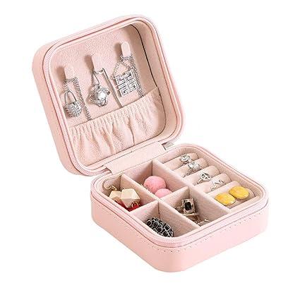 Amazon Com Small Jewellery Box Mini Travel Jewellery Boxes Case