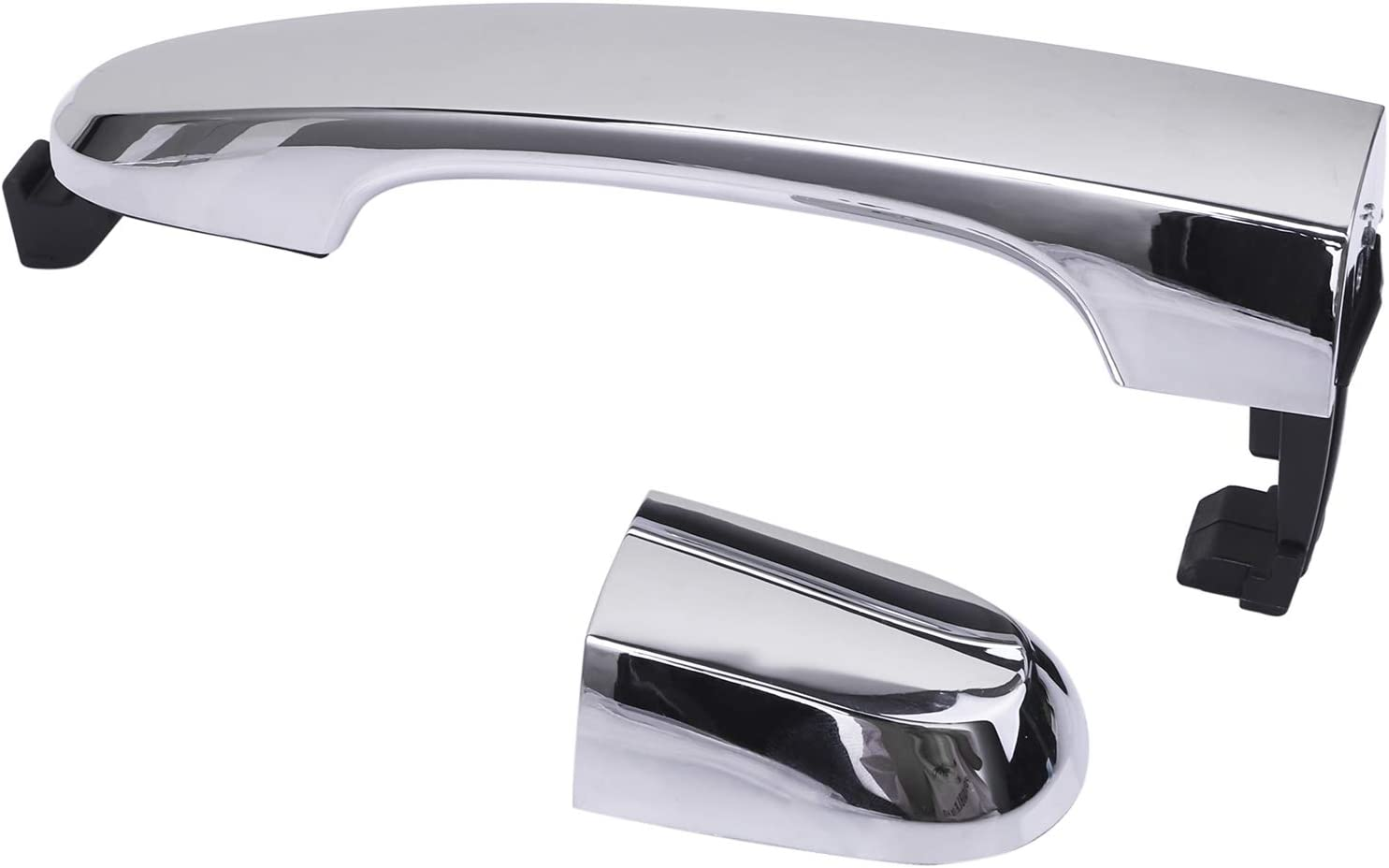 Exterior Rear Right Passenger Side Chrome Door Handle Replacements for Kia Sorento 2011-2015,826512P010 836622P010