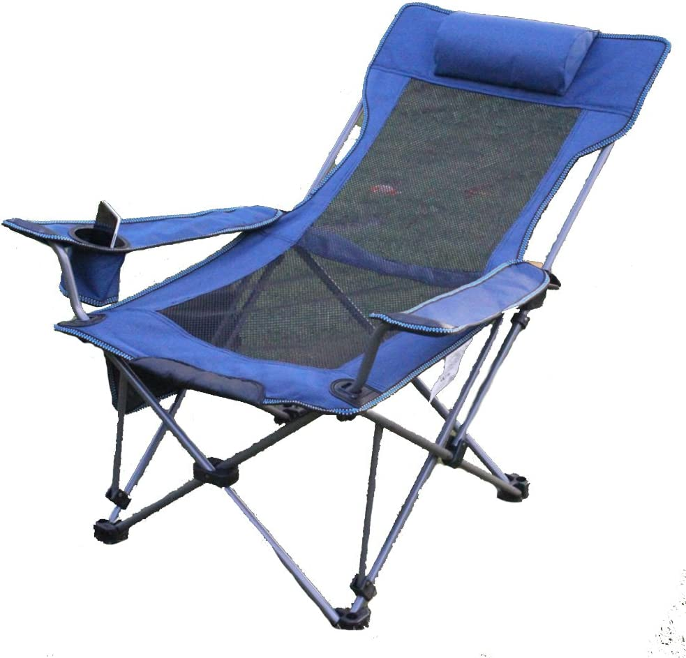 Outdoor Folding Chairs, Portable Camping Stool Beach Fishing