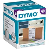 DYMO LW Extra Large Shipping Labels for LabelWriter 4XL Label Maker, 104mm x 159mm, Roll of 220, Black Print on White…