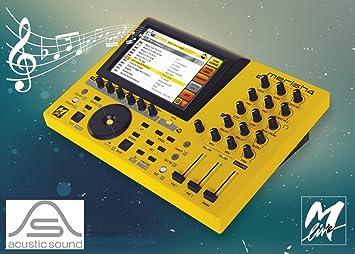 M-LIVE Merish 4 Midi Mp3 Mp4 Player Mixer Recorder: Amazon