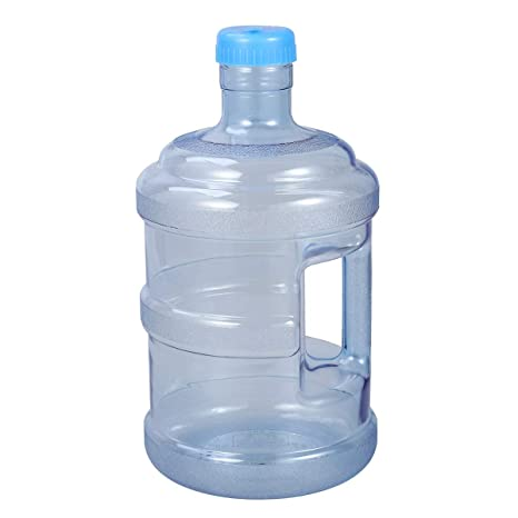 VORCOOL 5 litros de Botella de Agua Pura Botella de Agua Mineral Cubo portátil con Mango