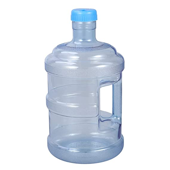 VORCOOL 5 litros de Botella de Agua Pura Botella de Agua Mineral Cubo portátil con Mango: Amazon.es: Hogar