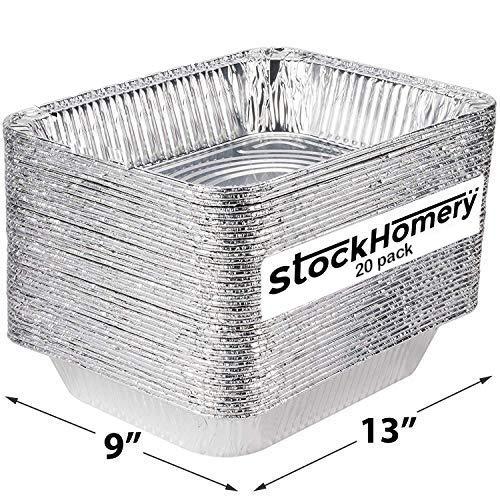Foil Baking Pans Aluminum Pans 9x13 Disposable Foil Pans