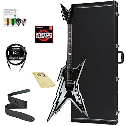 Dean Guitars RZB bksv-kit-1 guitarra eléctrica Pack: Amazon.es ...