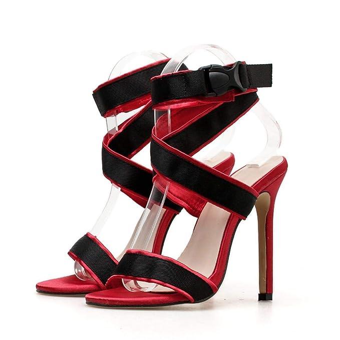 POLP Sandalias Peep Toe Sandalias Mujer Cuña Alpargatas Plataforma Bohemias Playa Gladiador Verano Tacon Planas Zapatos Zapatillas Beige Negro 34-43 ...