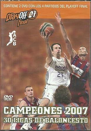 30 Ligas de Baloncesto: CAMPEONES 2007 - ACB - Real Madrid ...
