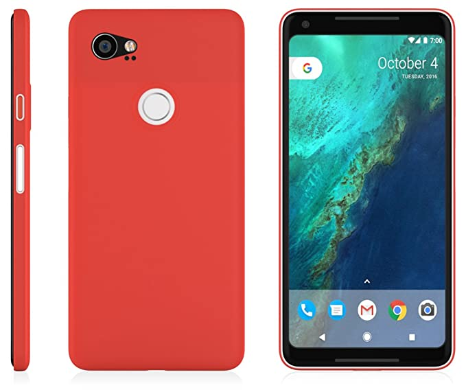 new arrival 93922 67336 Google Pixel 2 XL MNML Thin Case (Red)