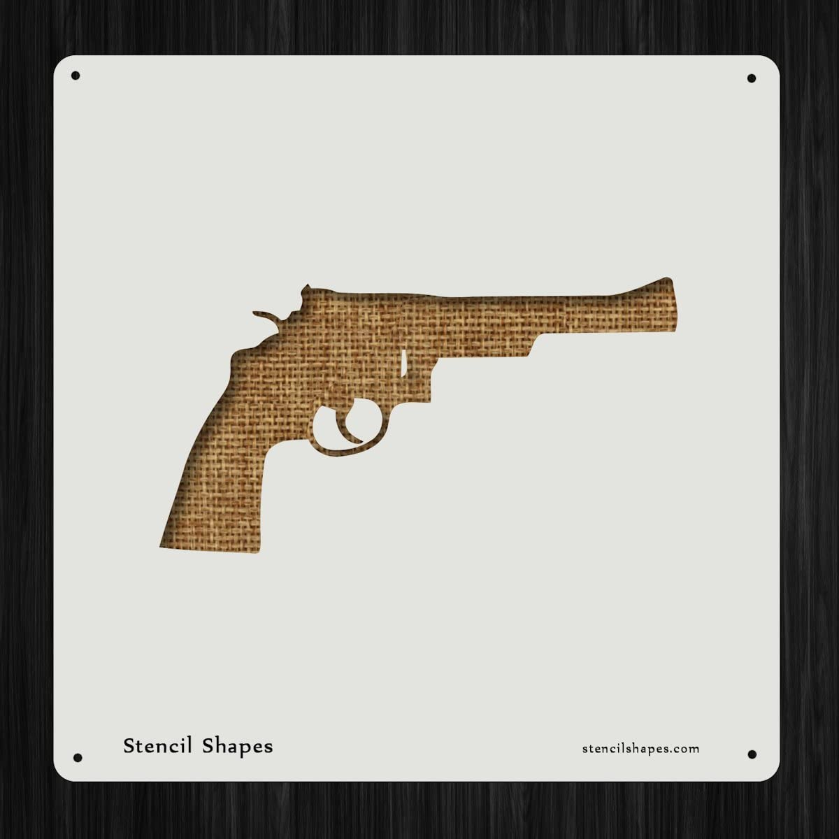 Highly detailed revolver perfect for NRA mambers gun only no quote,Digital Svg design,DIY iron with cricut or silhouette machine revolver