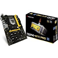 Biostar TB250-BTC PRO LGA1151 2-DIMM DDR4-2400 Memory Slot 12 GPU Support GPU Mining Motherboard