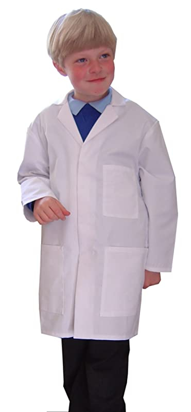 Children's Lab Coat (for ages 3-4 years): Amazon.co.uk: Clothing