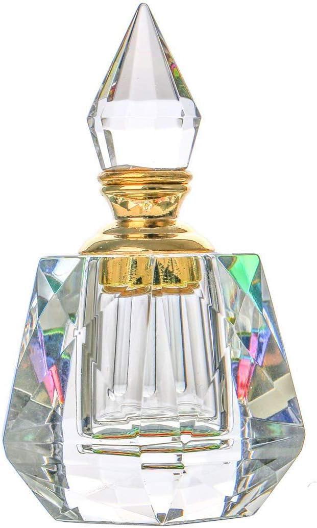 Perfume Bottle Crystal Glass Empty 50