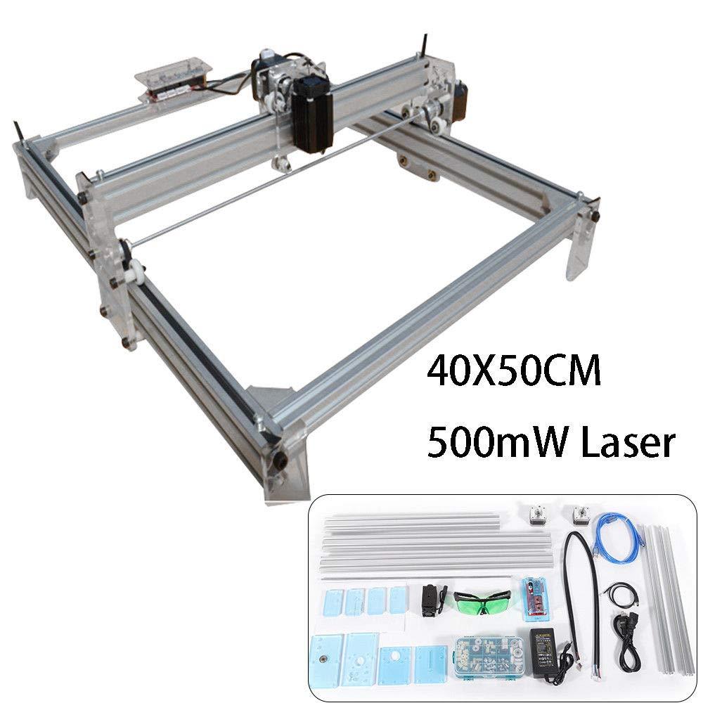 500MW Desktop Laser Graviermaschine Lasergravierer Engraving Carving Maschine Gravur Schnitzmaschine DIY Laserdrucker mit Schutzbrille SHIOUCY