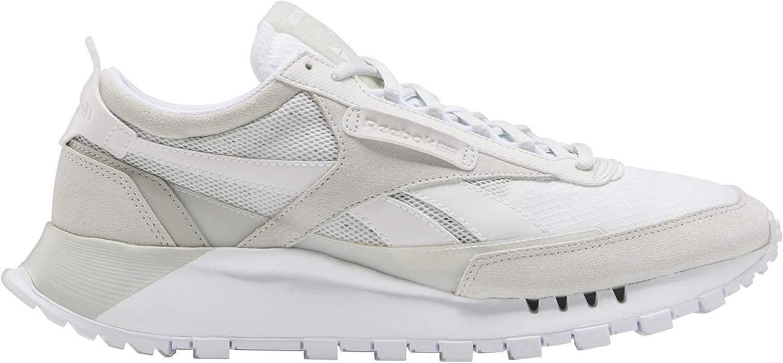 Reebok unisex-adult Classic Legacy Sneaker white/true grey/skull grey 15 medium US