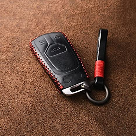 Amazon Com Fidgetgear Leather Remote Smart Key Fob Case Cover For