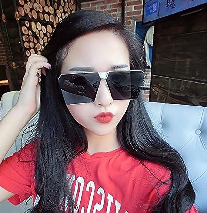 VVIIYJ Big Box Gafas de sol Hombres y Mujeres Gafas de sol ...