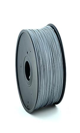 Filamento 3d Plata Pla 3.00 mm inalámbrico 3d Printer impresora 3d ...