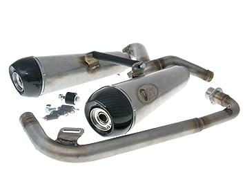 Escape - m4t129 de H6 - Turbo Kit Double para Honda MSX 125 (Grom): Amazon.es: Coche y moto