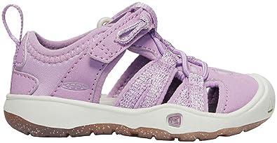 a5ac3408af98 Keen Kids Baby Girl s Moxie Sandal (Toddler) Lupine Vapor 4 M US Toddler