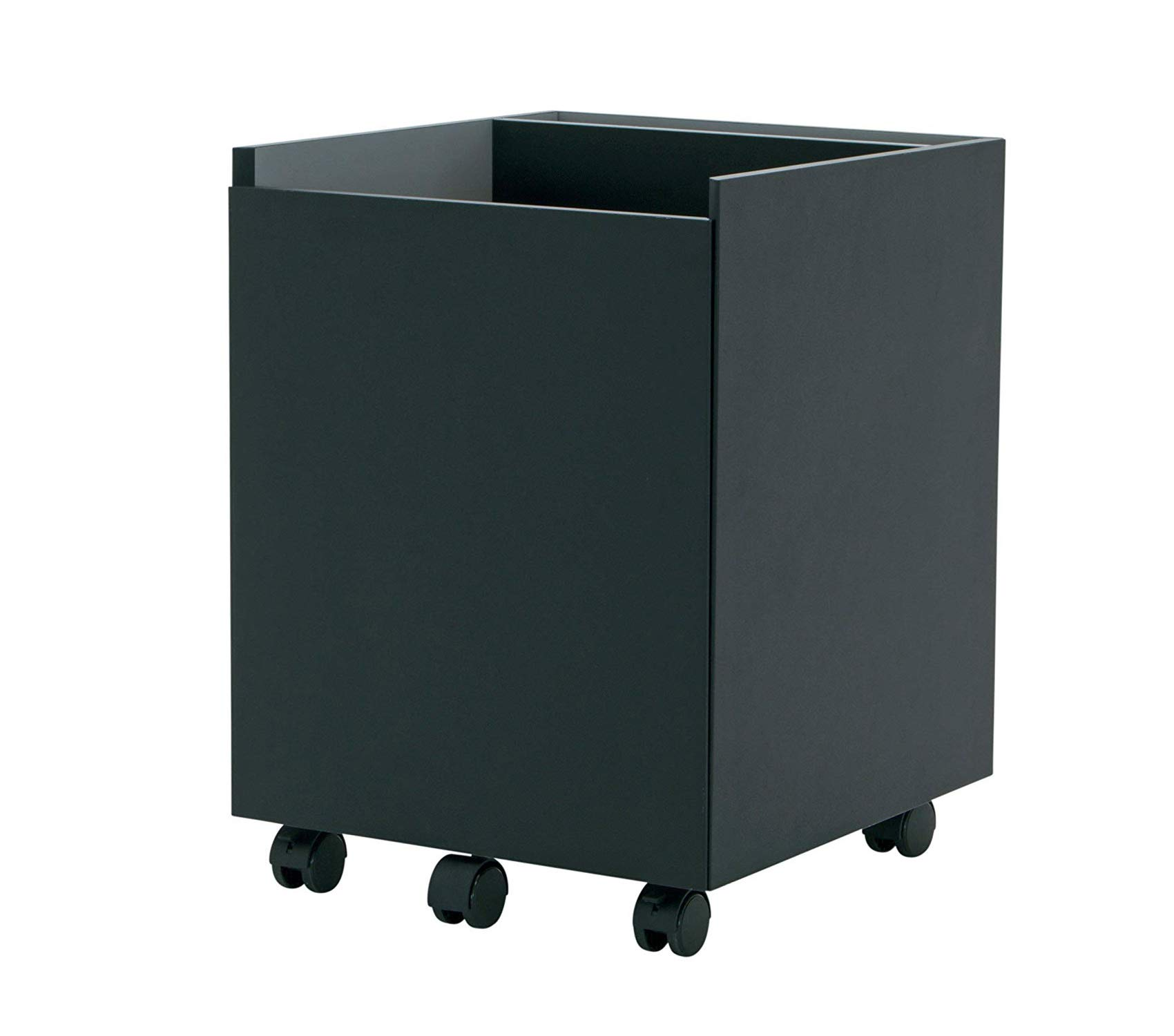 Cаlicо Dеsigns Office Home Furniture Premium Niche Mobile File Cabinet,Black