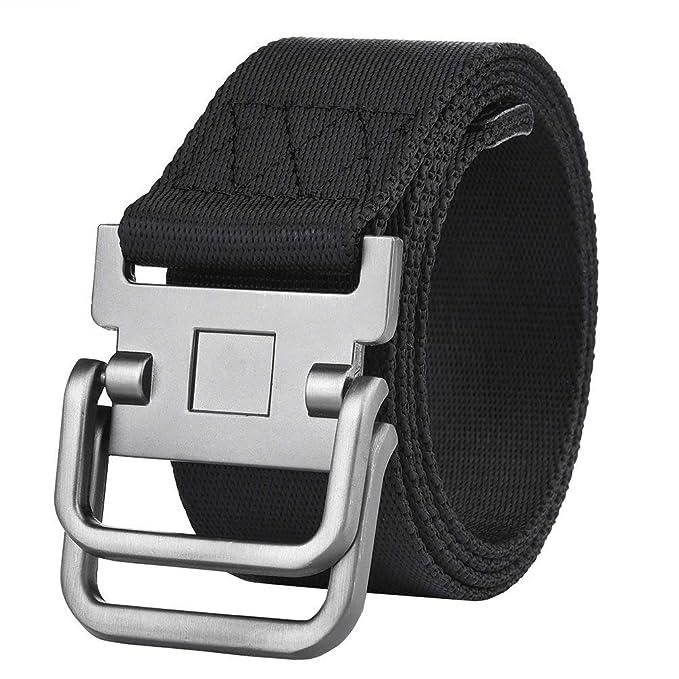 minorista online f35af 9d951 Cinturón Táctico Para Hombre Cinturón Tela De Para Hombre Cinturón Regalos  De Vaqueros Cinturón Casual Para La Vida Diaria Y Al Aire Libre 125 Cm
