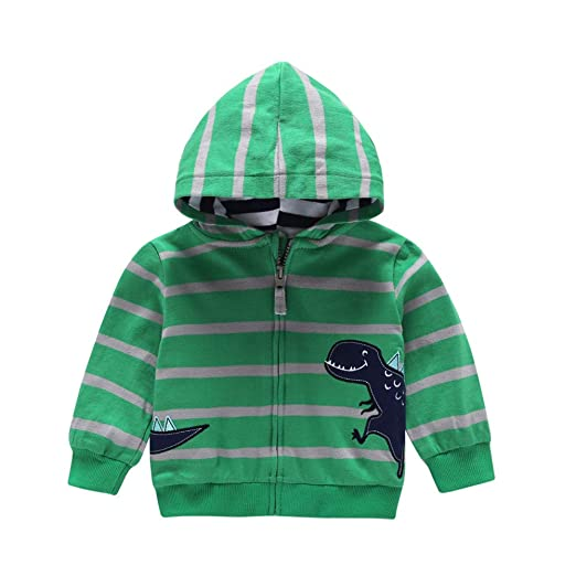0d3f9d612 Amazon.com  Infant Baby Toddler Girls Boys Fall Winter Hoodie Jacket ...