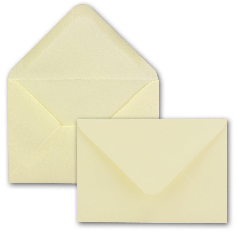 100x weißes DIN A6 Falt-Karten-Set mit Leinen-Prägung I 10,4 x x x 14,8 cm - mit Brief-Umschlägen & Einlege-Blätter I Papier-Bastel-Set mit Leinen Oberfläche I von Gustav NEUSER® B07DL31XPS Grukarten & Einladungsumschlge Schön un 01cb31