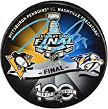 Jake Guentzel Pittsburgh Penguins Autographed 2017 Stanley Cup Final Match-Up Hockey Puck - Fanatics Authentic Certified