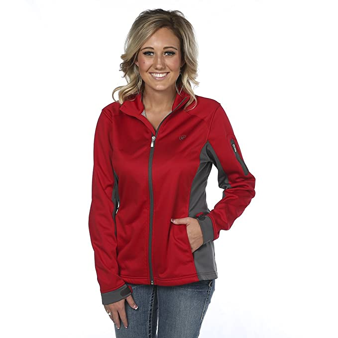Ariat - Chaqueta - para Mujer Rojo Rosso Large: Amazon.es ...