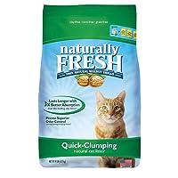 Deals on Naturally Fresh Walnut-Based Quick-Clumping Cat Litter 14lb