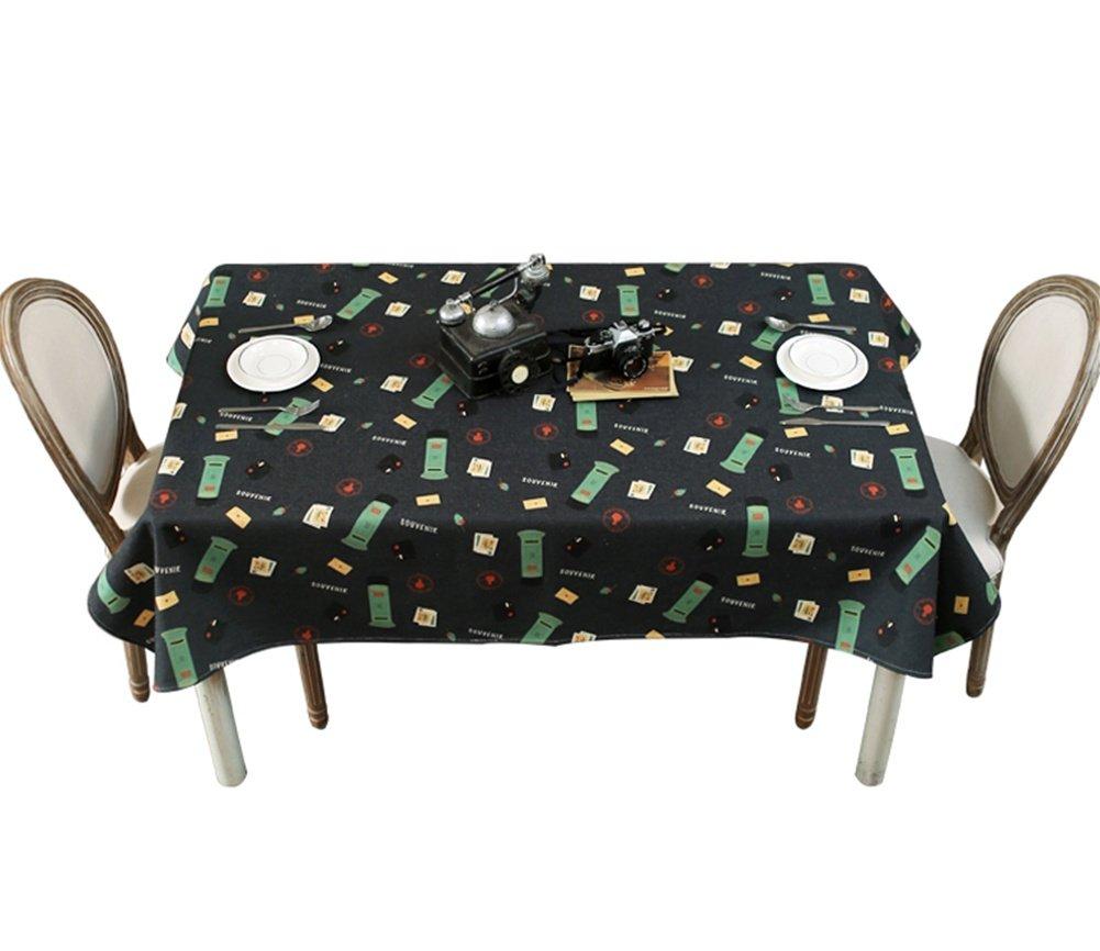 ZHUOBU Paño de Mantel Paño de Mesa de té Mantel de Lino de algodón ...