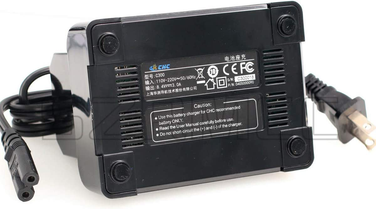 SZRMCC C300 4-Slot Battery Charger for Trimble GPS 5700 5800 R7 R8 GNSS Series Battery 54344//92600