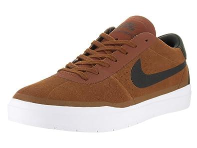 Nike Men s Bruin SB Hyperfeel Hazelnut Black White Skate Shoe 9 5 Men US