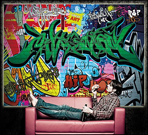 Skateboard Live Wallpaper: Wall Mural Street Style Mural Decoration Graffiti Art