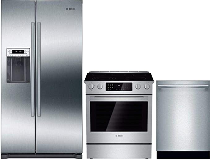Amazon.com: Bosch 3 Piece Kitchen Appliance Package with ...
