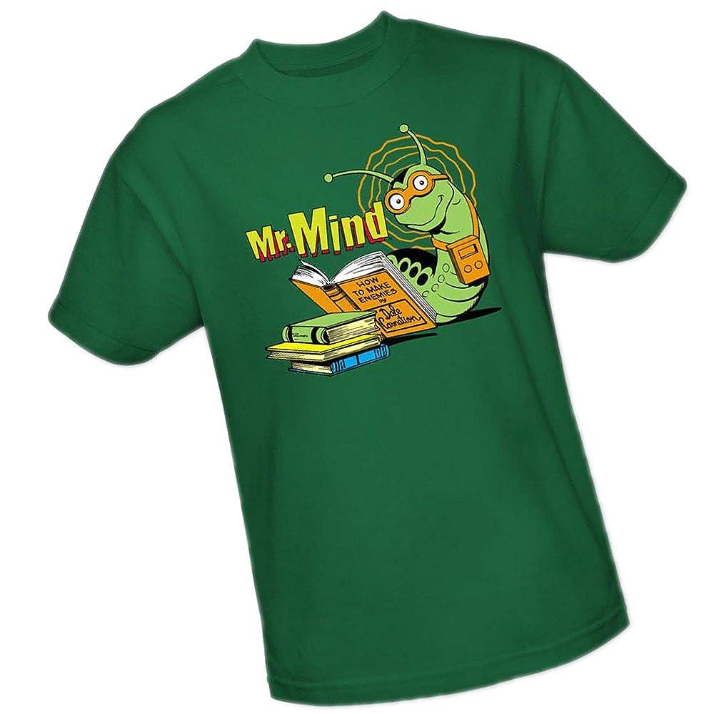 Amazon Mr Mind Dc Comics Adult T Shirt Movie And Tv Fan T