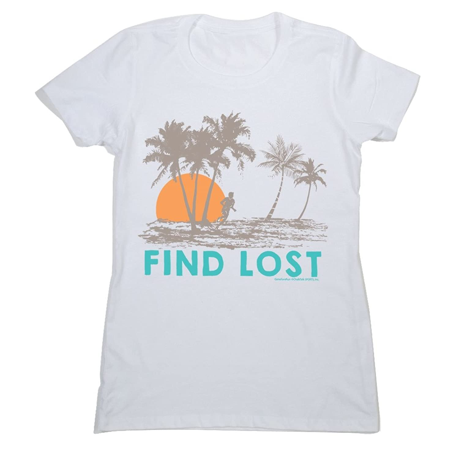 Women's Everyday Runner's Tee Run Club Find Lost