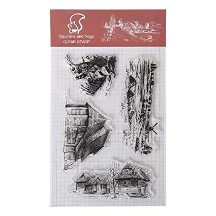 Squirrel Shoresua Clear Stamps Ink Pad Transparent Stamp Silicone Stamp DIY Scrapbooking Embossing Paper Cards Home Decor