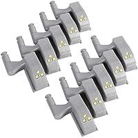Scharnierlicht, 10-delige scharnier-led-sensorlamp, universele kast, kastscharnier, verlichting voor nachtverlichting in…