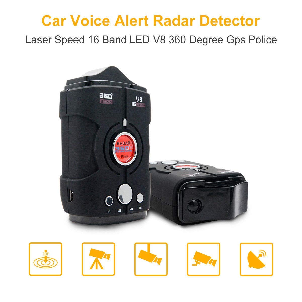 Amazon.com: HOLDJOVE Detector láser de radar de largo ...