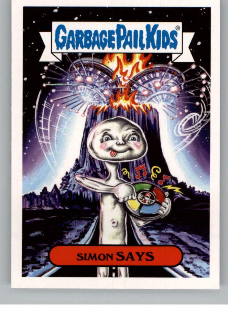 2018 Topps Garbage Pail Kids Oh The Horror-ible Retro Sci-Fi Sticker B NonSport #2B SIMON SAYS