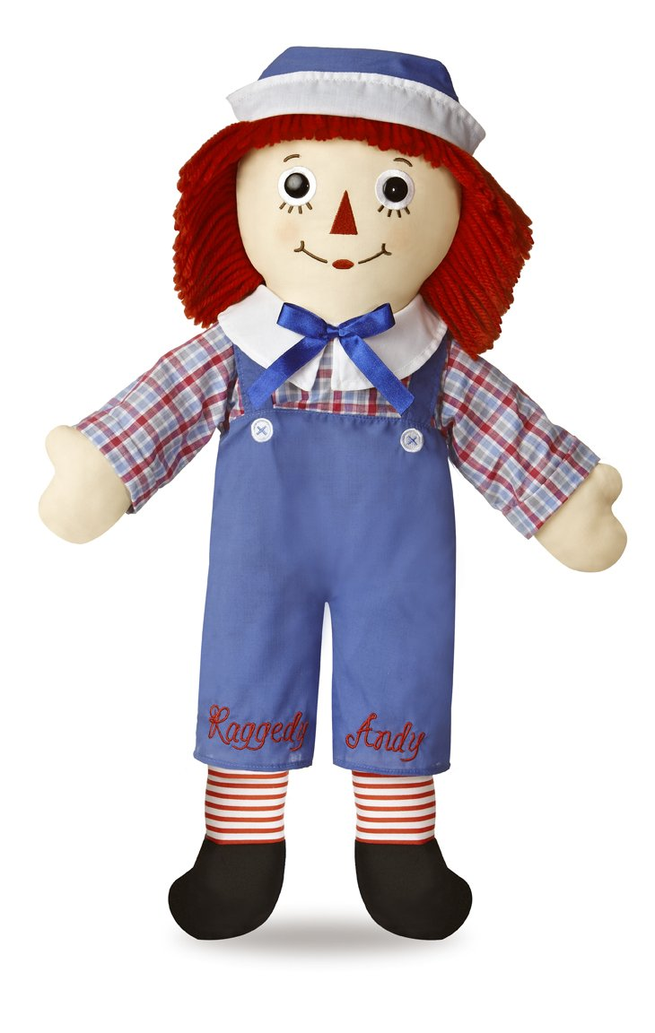 amazon com aurora world raggedy andy classic doll 25