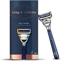 King C. Gillette Men's Neck Razor, Designed for Shaving the Sensitive Skin of your Neck and Cheeks with Gillette's Best…
