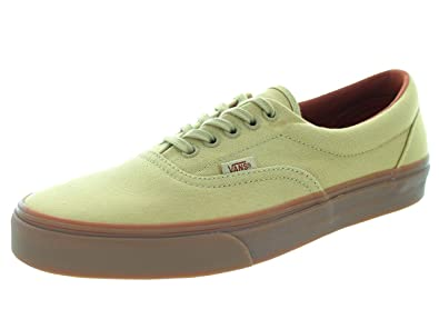 khaki gum sole vans