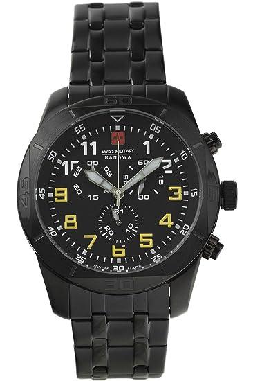 Swiss Military Hanowa - - 06-5265.13.007.11 - Cronógrafo Cuarzo Hombre: Amazon.es: Relojes