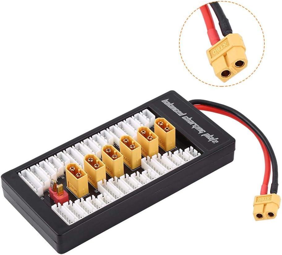 Drfeify Balanced Charging Board Multi 2s 6s Lipo Battery Parallel Ladekarte Mit Xt60 Stecker