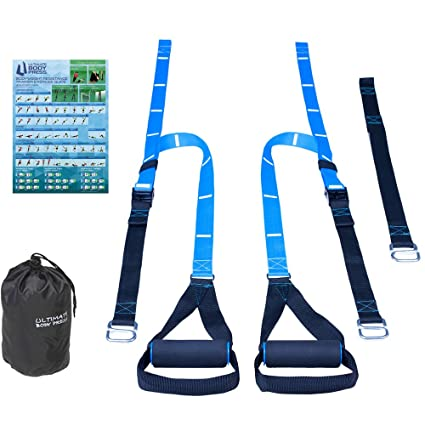 75b7ac41f2 Amazon.com   Ultimate Body Press Bodyweight Resistance Trainer   Sports    Outdoors